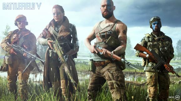 Battlefield V squads.