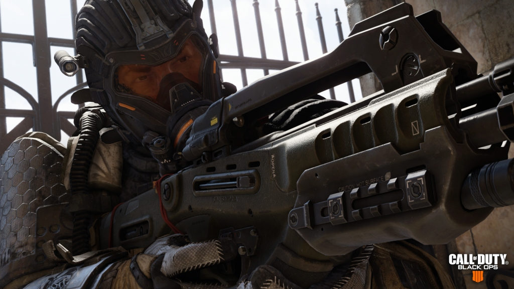 Call of Duty: Black Ops 4 features frenetic multiplayer mode