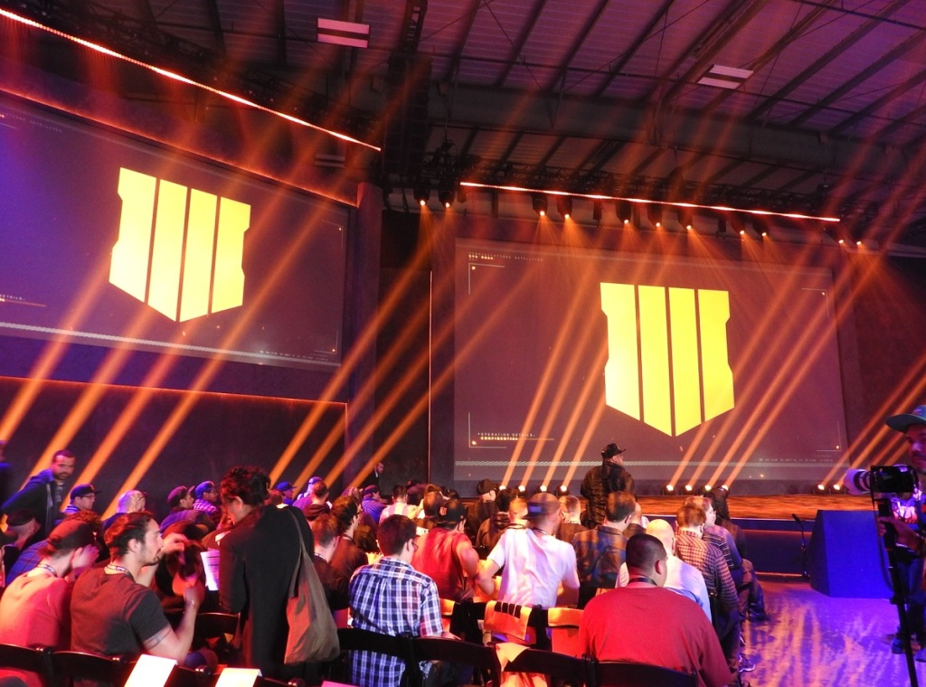 Call of Duty: Black Ops 4 reveal.