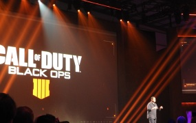 Mark Lamia at Call of Duty: Black Ops 4 reveal.