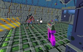 Compound is one of VR's best shooters, and the Wolfenstein 3D vibe helps it here.