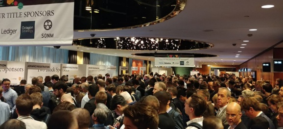 Consensus 2018: Packed at registration time