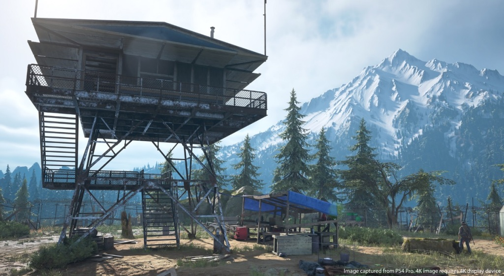 Days Gone takes place in the Oregon wilderness. This looks like a nice, safe place.