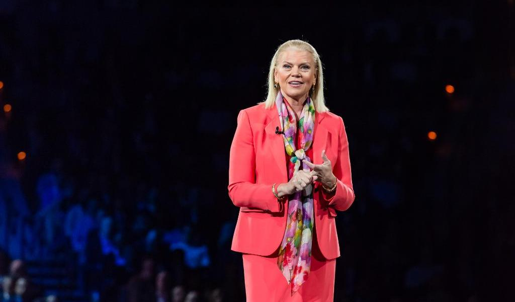 IBM CEO Ginni Rometty spoke at Viva Technology conference on May 23.