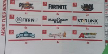 E3 leak suggests Switch is getting Fortnite and Paladins