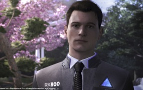 Actor Bryan Dechart plays Connor, an android who serveas as a police investigator and negotiator.