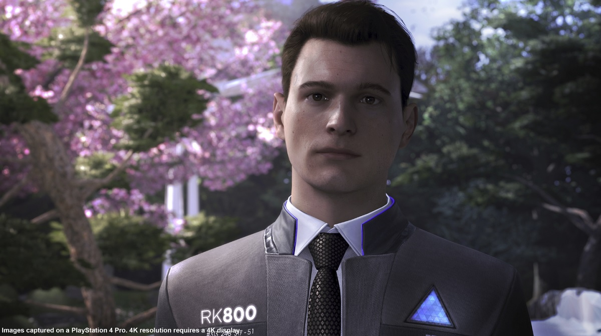 Detroit Become Human Wallpaper Connor: Detroit: Become Human Review -- 3 Android Tales Come
