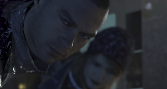 Markus and North contemplate their next moves in Detroit: Become Human.