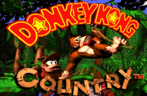 Donkey Kong Country.