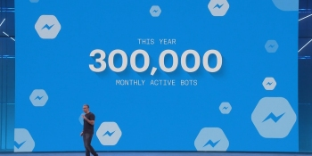 Facebook Messenger passes 300,000 bots