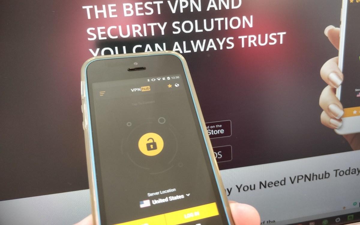 Pornhub mobile app