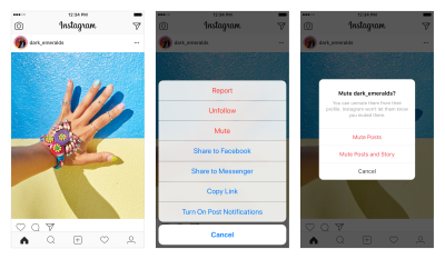 c59501863c4 Instagram adds option to mute posts in your feed