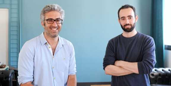 Owkin founders: Thomas Clozel and Gilles Wainrib