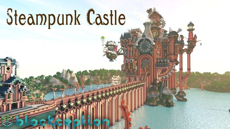 10. Steampunk Castle