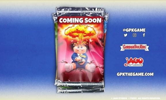 Jago Studios is making a Garbage Pail Kids mobile game.
