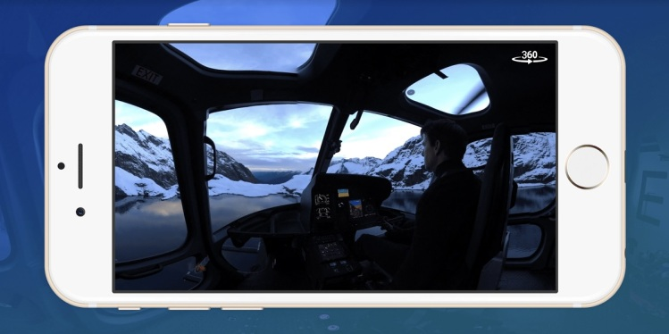 Gfycat lets you view 360-degree looping content. Here's a scene from Mission: Impossible -- Fallout.