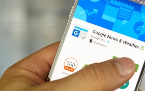 Google Play News and Weather app on Android