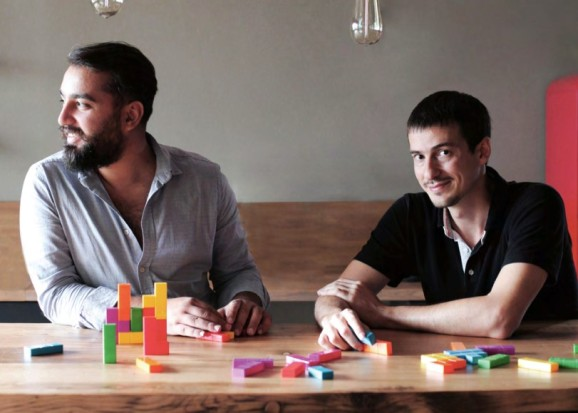 Gram Games founders Mehmet Ecevit (left) and Kaan Karamanci.