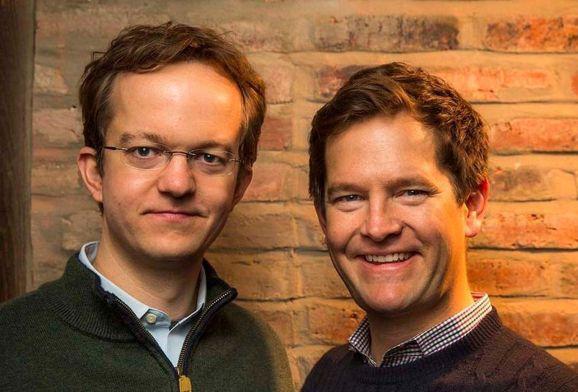 Virtru CTO Will Ackerly (left) and CEO John . Ackerly (right).