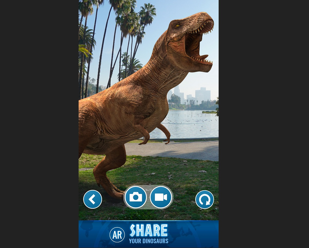 Ludia and Universal launch Jurassic World Alive AR mobile