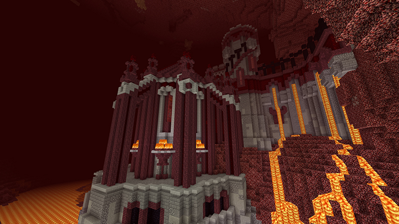 You have conquered the overworld, now claim Hellstone Keep as your fortress in the Nether. This magnificent castle is yours for the taking, along with the treasure within!