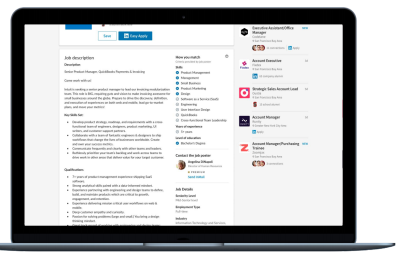 LinkedIn to roll out 1-click apply, 'How you Match' feature