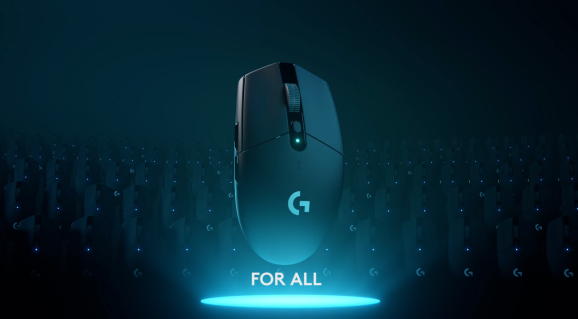 Logitech's newest gaming mouse.