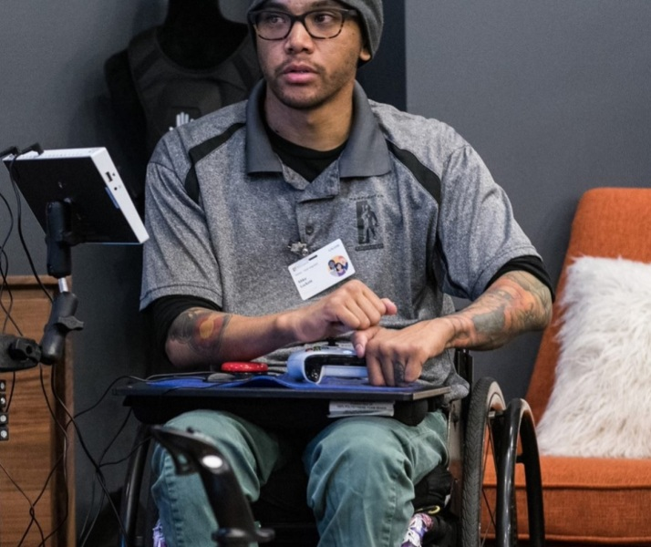Mike Luckett was a beta tester for the Xbox Adaptive Controller.