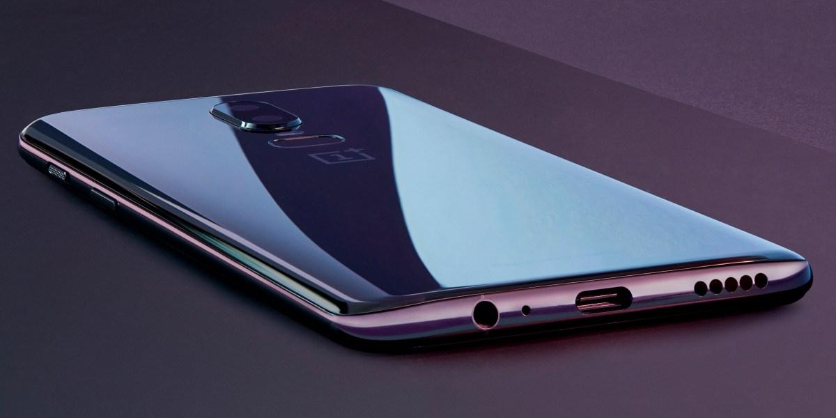 OnePlus 6: Mirror black