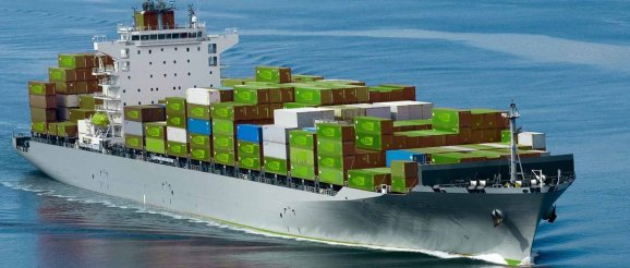 Nvidia posted this image of a cargo ship packed with GPUs.