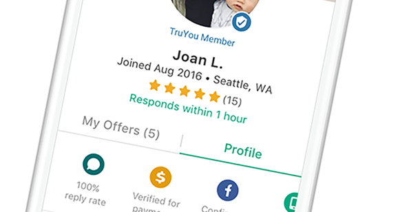 OfferUp - Profile Page