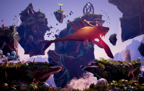 Team17's upcoming planet-turning platformer, Planet Alpha.