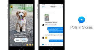 Facebook adds polls to Messenger Stories