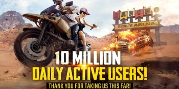 PlayerUnknown's Battlegrounds Mobile hits 10 million daily active players