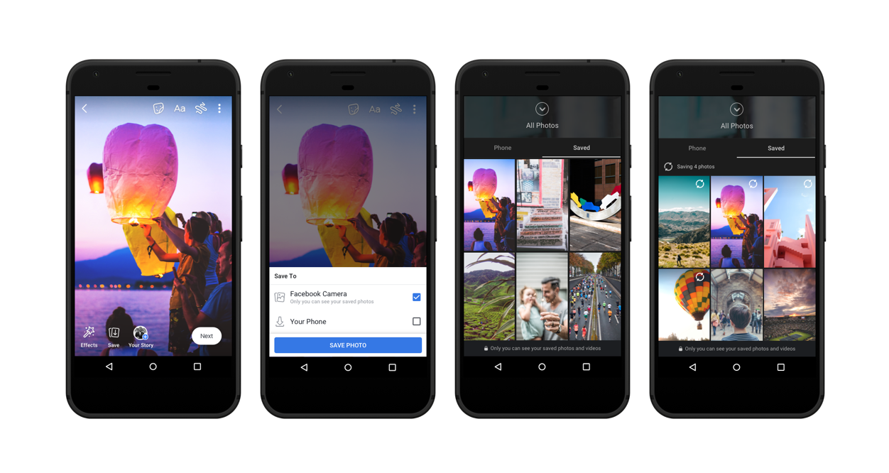 Facebook introduces cloud storage, voice posts, and Stories Archive