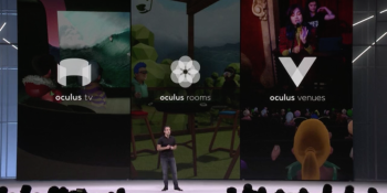 Oculus Go launches with flagship social apps TV, Venues, and Rooms