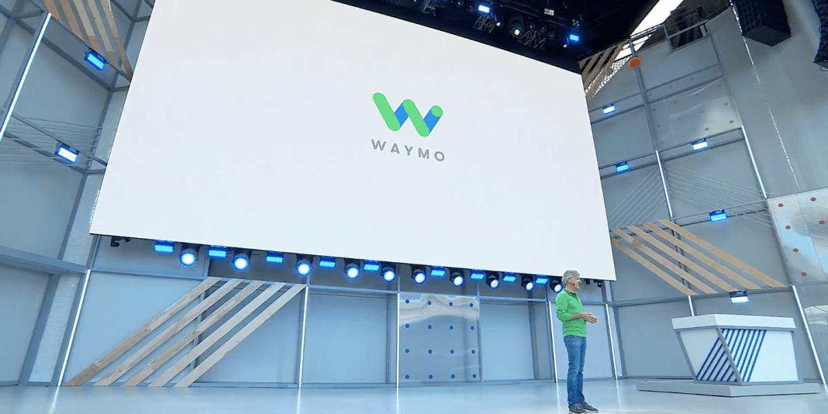 Onstage at Google I/O on May 8, 2018, Waymo CEO John Krafcik discusses his company's Phoenix, Arizona-based autonomous car fleet.