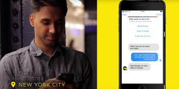 Western Union has gone all in on their chatbot — learn why (VB Live)