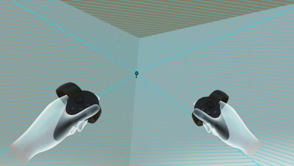 Sensor Bounds shows your tracking volume while you're inside VR