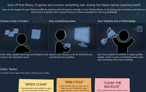 Wash that filthy shame from your Steam account.