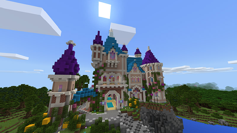"""""""Choose from three unique themes and gather materials to build your own castle town! Will you pick the rustic medieval, colorful fairy-tale, or spooky dark theme?"""""""