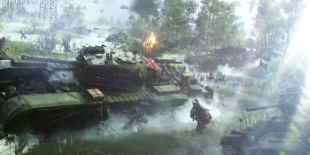 Battlefield V's multiplayer rewards include Tiger Tanks, V1 rockets, and Crocodiles