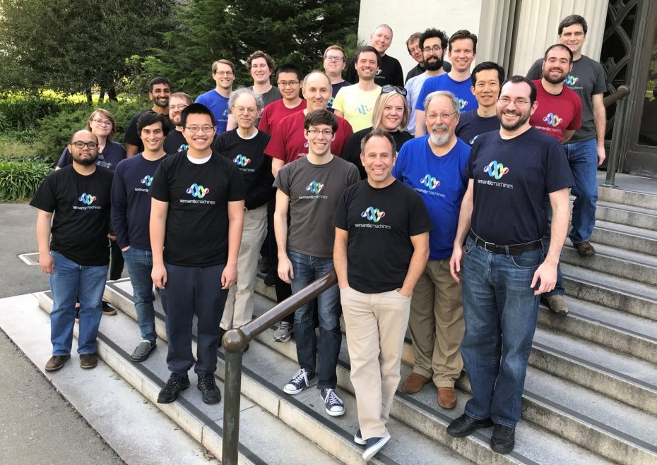 Semantic Machines team at the University of California, Berkeley