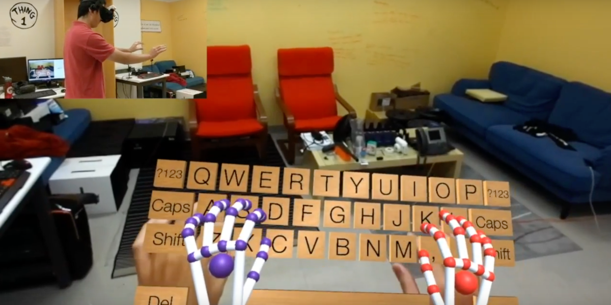 v.OS, a mixed reality interface by Stanford student