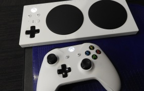 Microsoft's Xbox Adaptive Controller makes games more accessible.