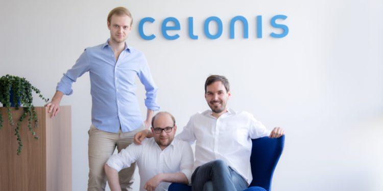 Celonis cofounders (left to right): Alexander Rinke, Bastian Nominacher, Martin Klenk.