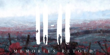 11-11 Memories Retold features two soldiers, a pigeon, and a cat.