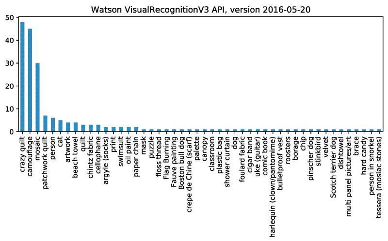 IBM Watson cat test