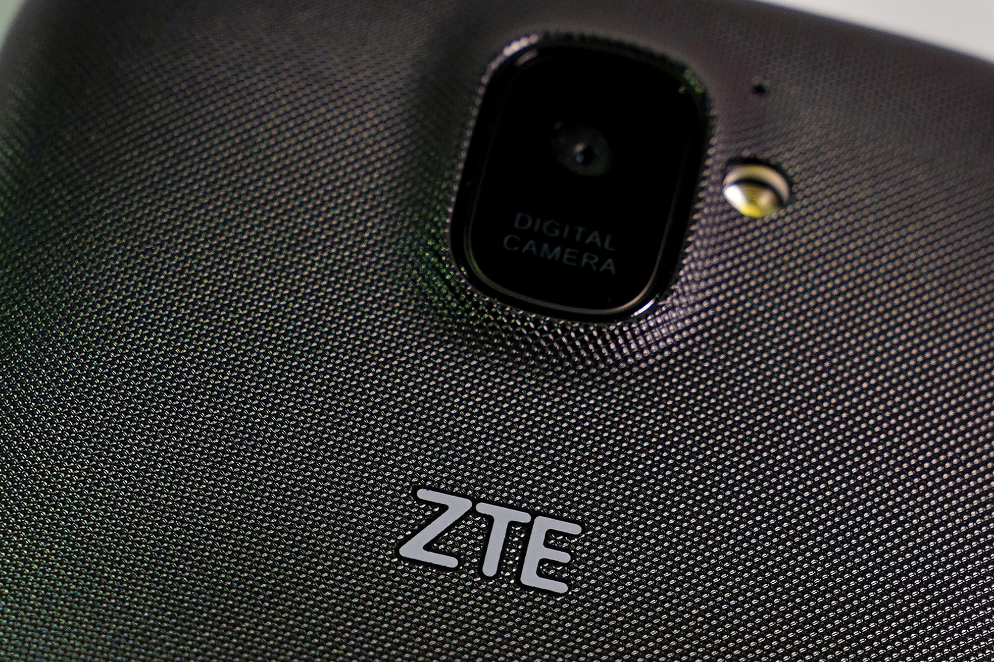 The U.S. strikes a deal with Chinese electronics giant ZTE