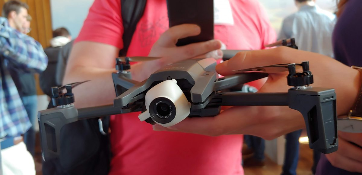 Parrot will prototype combat reconnaissance drones for U.S. military